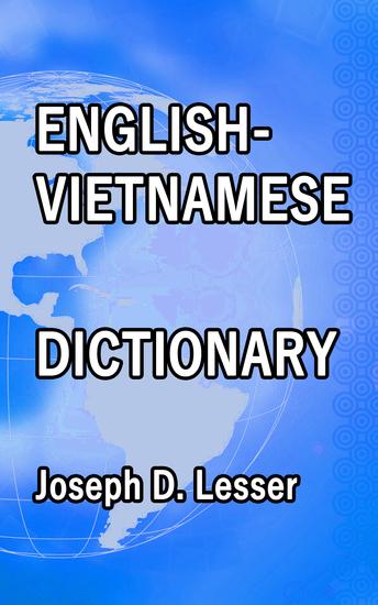 English Vietnamese Dictionary - cover
