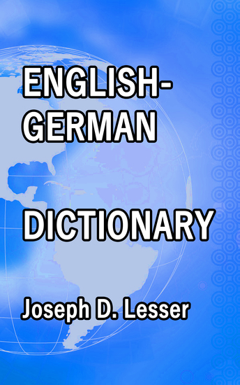 English German Dictionary - cover