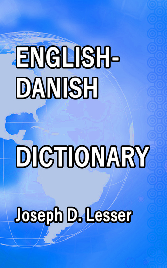 English Danish Dictionary - cover