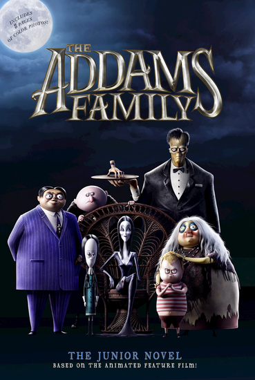 The Addams Family: The Junior Novel - cover