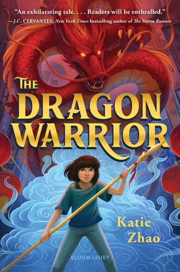The Dragon Warrior - cover