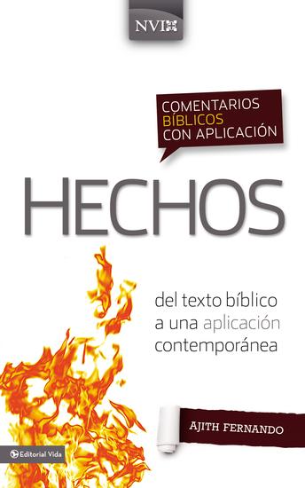 Comentario bíblico con aplicación NVI Hechos - Del texto bíblico a una aplicación contemporánea - cover