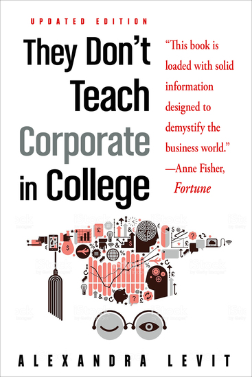 They Don't Teach Corporate in College Updated Edition - cover