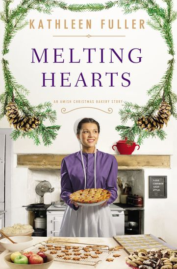 Melting Hearts - An Amish Christmas Bakery Story - cover