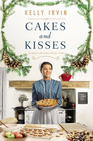 Cakes and Kisses - An Amish Christmas Bakery Story - cover