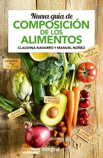 Nueva guía de composición de los alimentos - cover