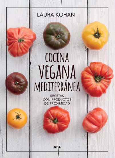 Cocina vegana mediterránea - cover