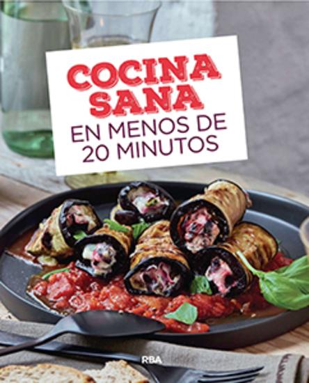 Cocina sana en menos de 20 minutos - cover