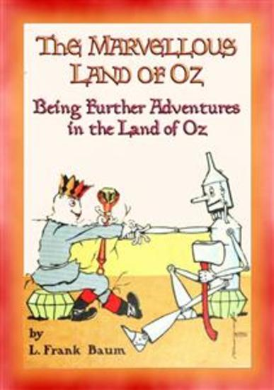 THE MARVELLOUS LAND OF OZ - Book 2 in the Land of Oz series - cover