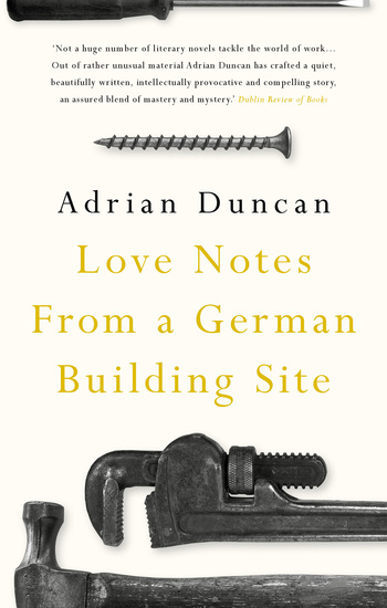 Love Notes from a German Building Site - cover