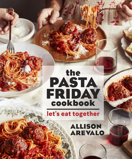 The Pasta Friday Cookbook - Let's Eat Together - cover