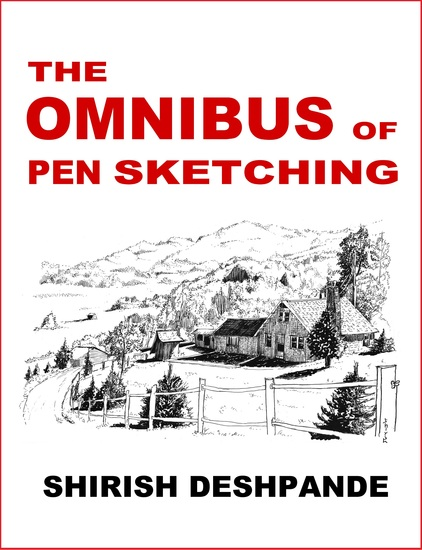 The Omnibus of Pen Sketching - Get Set & Sketch like a Boss! - cover