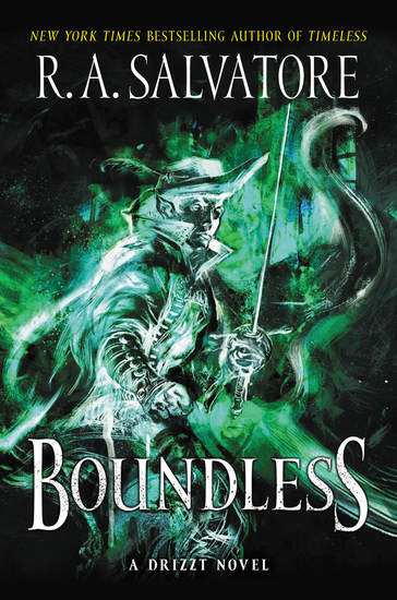 Boundless - A Drizzt Novel - cover