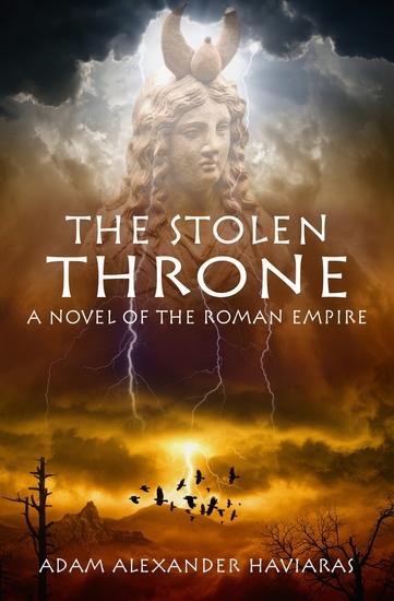 The Stolen Throne - A Novel of the Roman Empire - cover