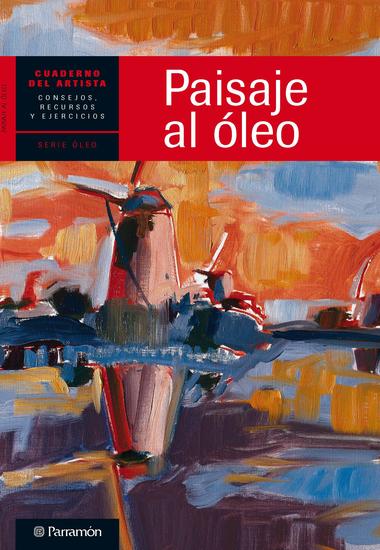 Cuaderno del artista Paisaje al óleo - cover