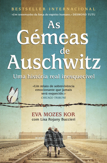 As Gémeas de Auschwitz - cover