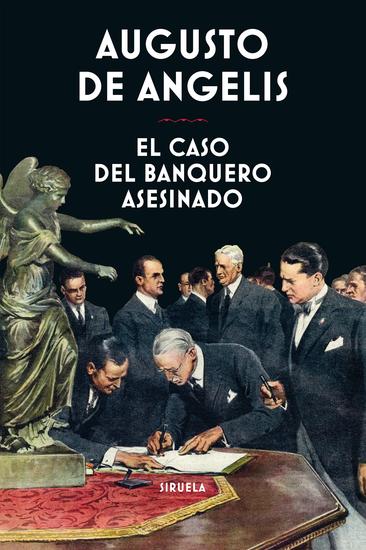 El caso del banquero asesinado - cover
