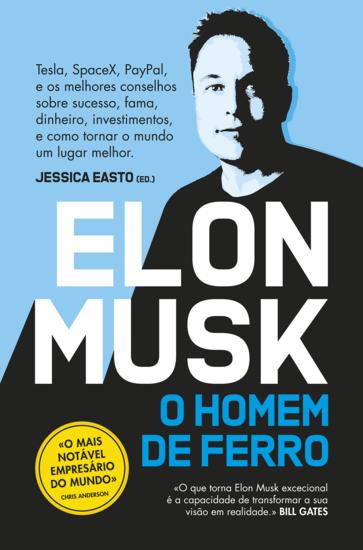 Elon Musk - O Homem de Ferro - cover