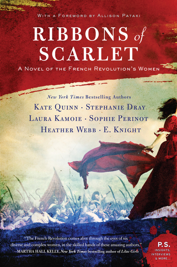Ribbons of Scarlet - A Novel of the French Revolution's Women - cover