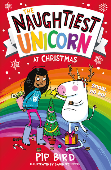 The Naughtiest Unicorn at Christmas - cover