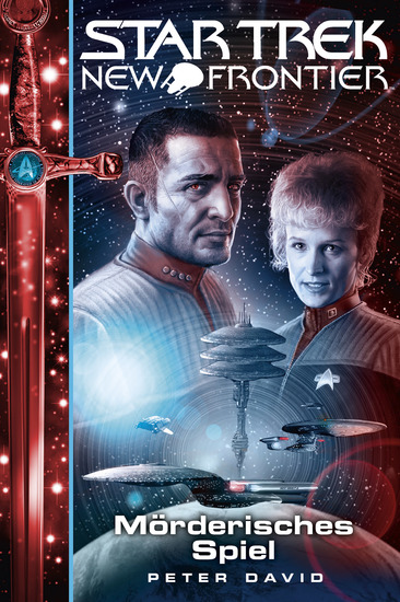 Star Trek - New Frontier 17: Mörderisches Spiel - cover