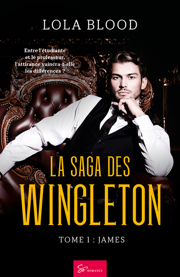 La Saga des Wingleton - Tome 1 - James - cover