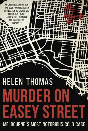 Murder on Easey Street - cover
