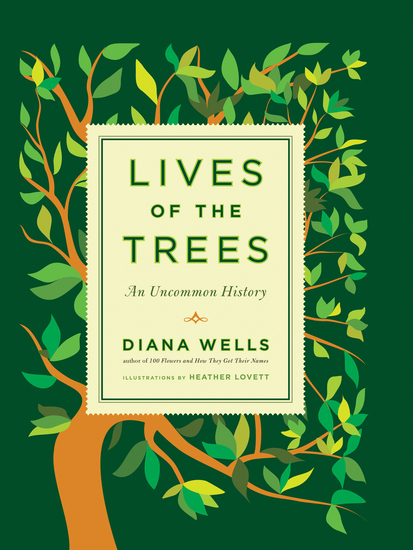 Lives of the Trees - An Uncommon History - cover