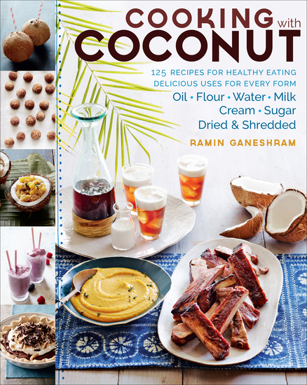 Cooking with Coconut - 125 Recipes for Healthy Eating - cover