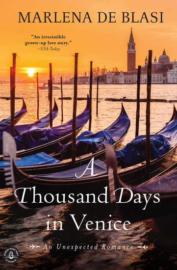 A Thousand Days in Venice - An Unexpected Romance - cover