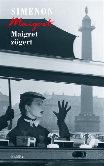 Maigret zögert - cover