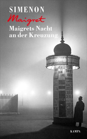 Maigrets Nacht an der Kreuzung - cover