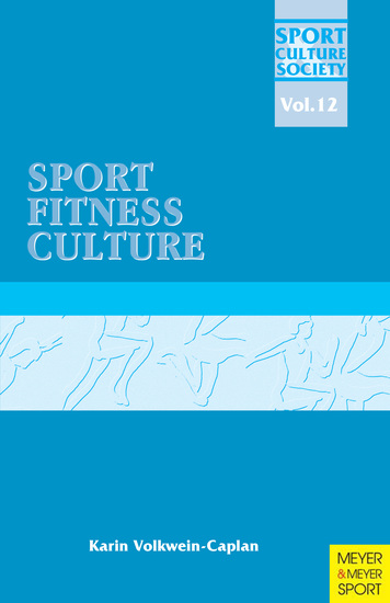 Sport Fitness Culture - cover