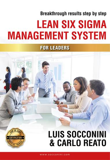 Lean Six Sigma Management System for Leaders - For Leaders - cover