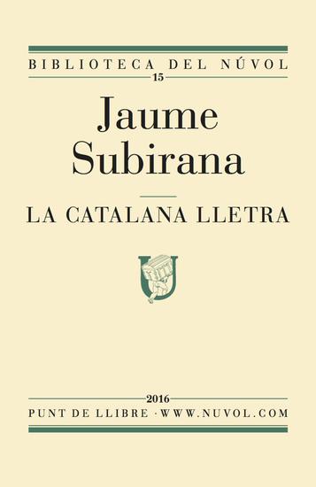 La catalana lletra - cover