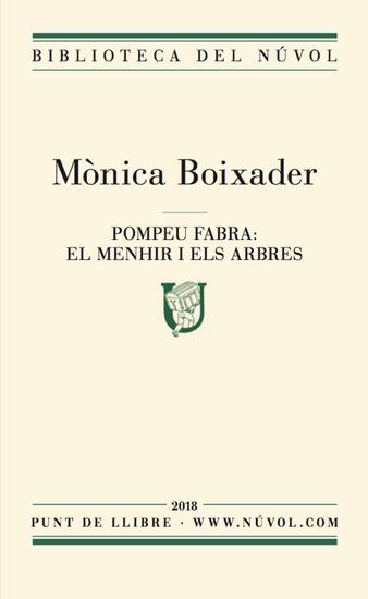 Pompeu Fabra: els menhirs i els arbres - cover