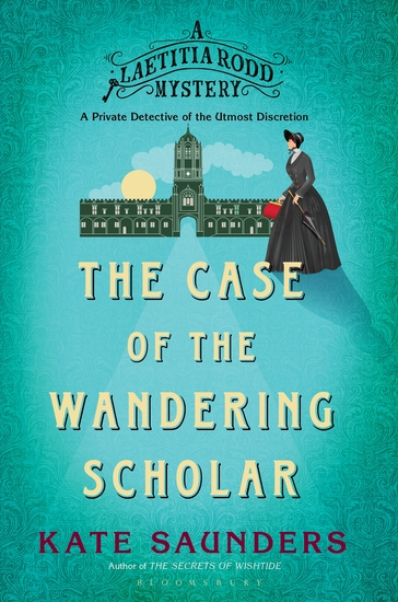 Laetitia Rodd and the Case of the Wandering Scholar - cover