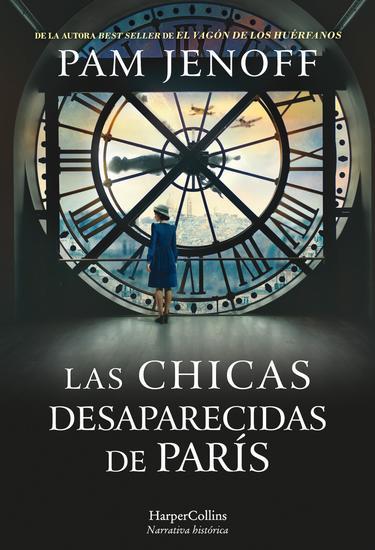 Las chicas desaparecidas de París - cover