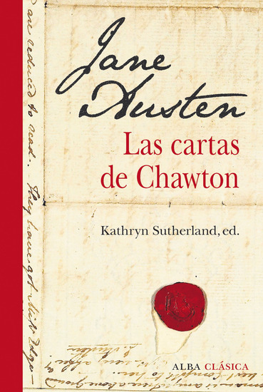 Las cartas de Chawton - cover