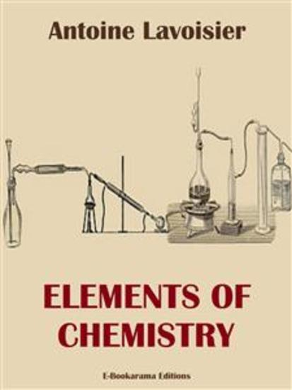 Elements of Chemistry - cover