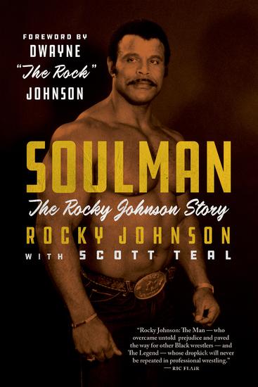 Soulman - The Rocky Johnson Story - cover