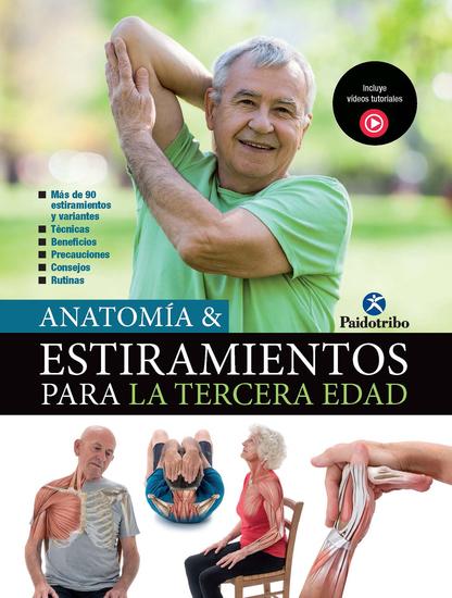 Anatomía & Estiramientos para la Tercera Edad (Color) - cover