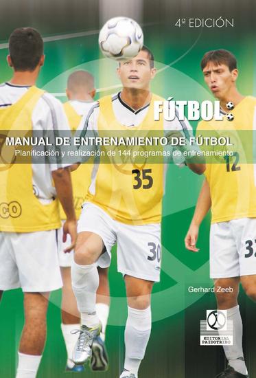 Manual de entrenamiento de fútbol - 144 programas de entrenamiento - cover