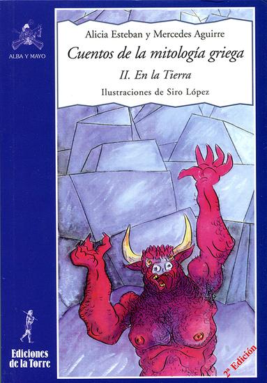 Cuentos de la mitología griega II - En la Tierra - cover
