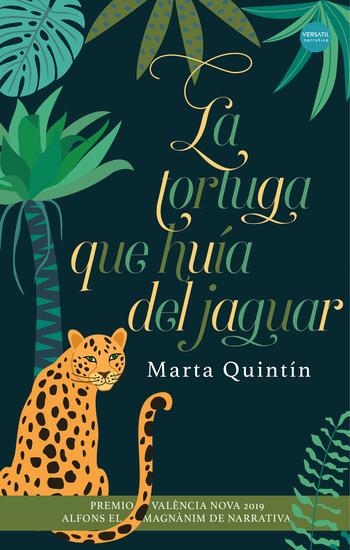La tortuga que huía del jaguar - cover