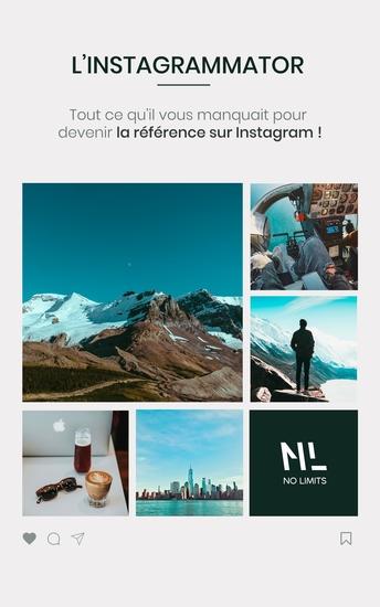 L'Instagrammator - Tout ce qu'il vous manquait pour devenir la référence sur Instagram - cover