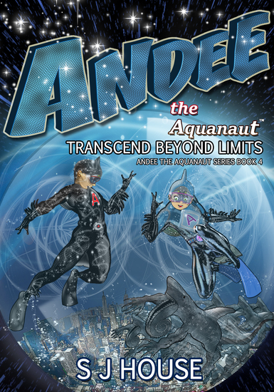 Andee the Aquanaut - Transcend Beyond Limits - cover