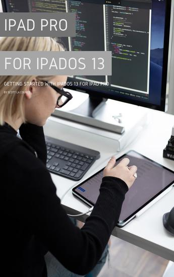 iPad Pro for iPadOS 13 - Getting Started with iPadOS for iPad Pro - cover