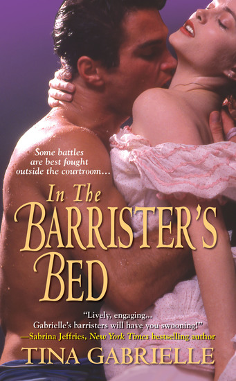 In the Barrister's Bed - cover