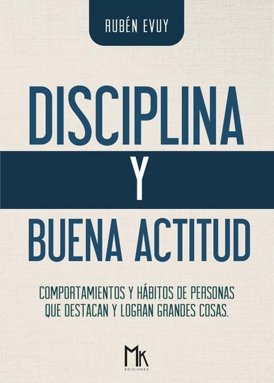 Disciplina y buena actitud - cover